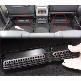 AX Air Outlet Cover Grille For SEAT Ateca 2016 2017 2018 Car Rear Air Condition Vent Molding Interior Tidying Dust ProofNet 2PCS