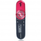 Genuine Sony Walkman NWZ-B152F USB Rechargeable MP3 Player with FM Radio - Red (2GB)
