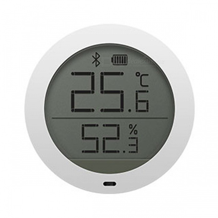 Original Xiaomi Mijia Smart Hygrometer Indoor Temperature Humidity MonitorHome Smart Devices<br>ColorWhiteModelLYWSDCGQ/01ZMQuantity1 setMaterialPCRate Voltage0Packing List1 x Hygrometer1 x Wall stickers1 x 7 batteries1 x Manual (Simplified Chinese)<br>