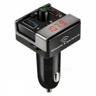 Bluetooth fm transmitter handsfree car kit mp3 music player - black