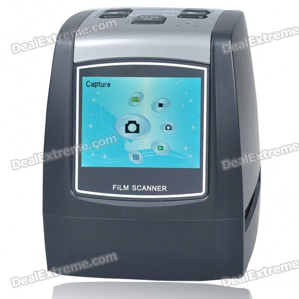 "2.36"" TFT LCD 5MP CMOS 35mm Film Scanner with SD/MMC + Mini USB"