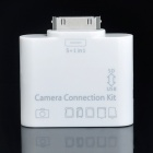 3-in-1 Camera Connection Kit for iPad - White (USB/SD/TF)