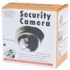 PIR Motion Activated Realistic Dummy Security Camera - Black