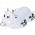 Cattle Shaped High Speed 4-Port USB Hub - White