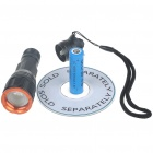 Romisen RC-29 3-Mode 180-Lumen Convex Lens LED Zooming Flashlight w/ CREE Q5 WC / Strap (1*AA/14500)
