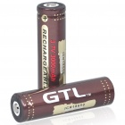 "GTL 18650 Protected 3.7V ""3000mAh"" Batteries (Pair)"