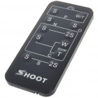 Wireless IR Remote Control for Sony/Canon/Nikon/Olympus/Pentax (1*CR2025)