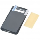 Protective Plastic Backside Case with Screen Guards + Cleaning Cloth for HTC Schubert HD7