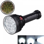 Aibber tone 15000 lumen 3-mode 16xxmlcree-t6 led strong torch lamp, tactical hunting flashlight