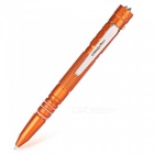 T7 Multi-functional Outdoor Hollow Tungsten Steel Security Tool, LED Lighting EDC Tactical Pen - Orange