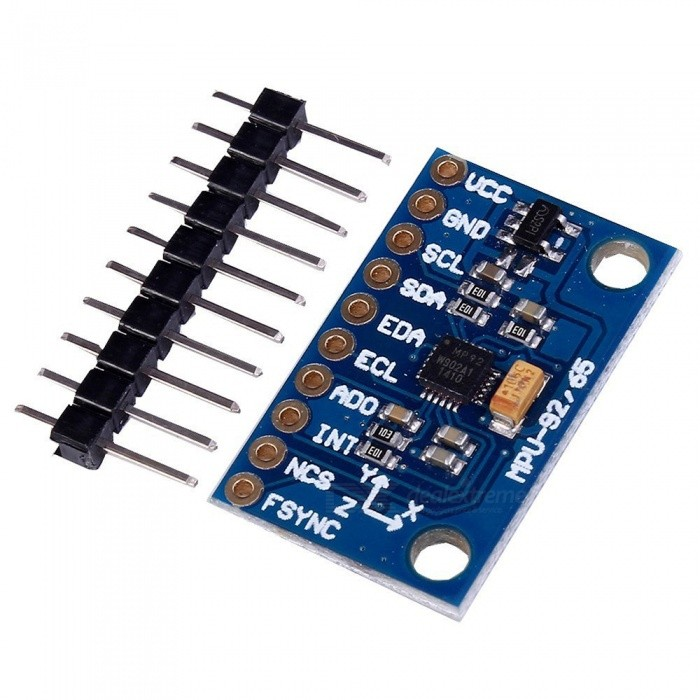 Produino MPU-9255 Three-axis Gyroscope Accelerometer Magnetic Field Best ST Sensor Module for ArduinoSensors<br>Form  ColorBlueForm  ColorBlueModelGY-9255Quantity1 setMaterialPCBApplicationDIYWorking Voltage   3-5 VEnglish Manual / SpecNoDownload Link   NoPacking List1 x Module<br>