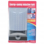 White Light Energy Saving Motion Sensor LED Wall Lamp (4*AA)