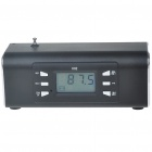 "1.8"" LCD Portable MP3 Music Speaker with FM Radio/USB/SD/MMC Slot/Remote Controller (Black)"