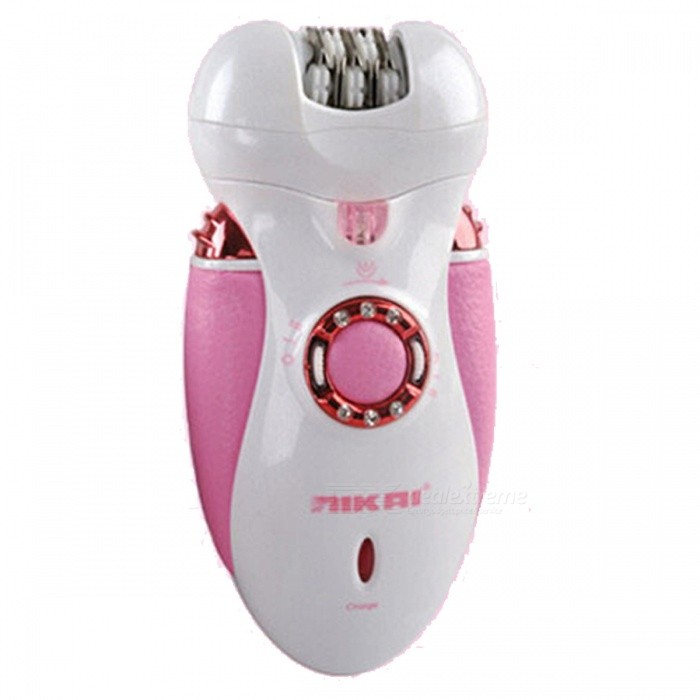 3-in-1 Rechargeable Multifunctional Women Shaver, Electric Epilator Hair Removal Tool (EU Plug)Shavers Razors<br>Form  ColorPinkShade Of ColorPinkShaver Head TypeReciprocating Vibrating TypeBlade Number3MaterialABSQuantity1 setRazor TypeElectricShaver Head Number3Washing ModeProfessional Washing SetPowered ByAC ChargerPower AdapterEU PlugPacking List1 x Shaving cutter<br>