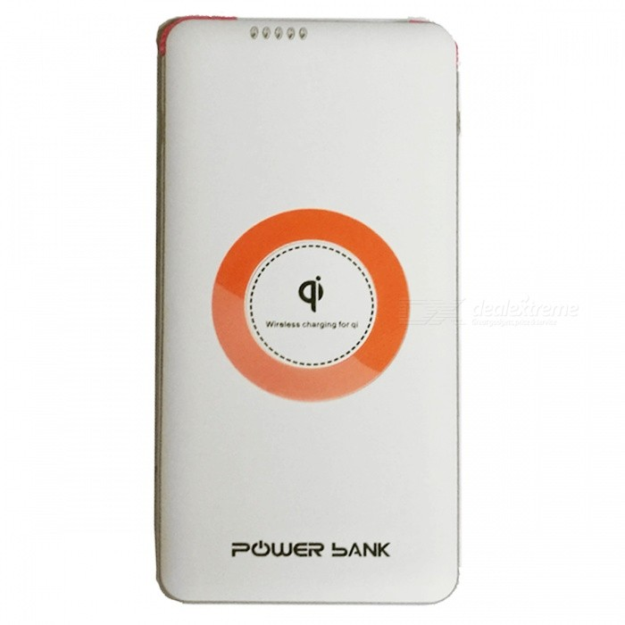 OJADE 20000mAh Power Bank With QI Wireless Charger / Power Indicator For  Mobile Phone / Table PC   White