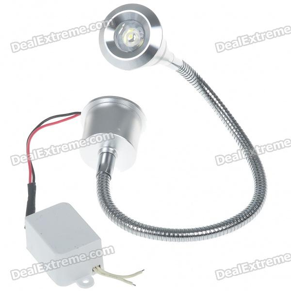 3W 170-Lumen 6500K White LED Flexible Neck Spot Light Bulb with LED Driver (85~265V) цены онлайн