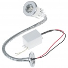 3W 170lm LED 6500K Cool White Light Flexible Neck Spot Lamp (85~265V)