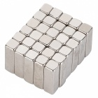 JEDX 10*3*3mm Rectangle Super Strong NdFeB Magnet - Silver (30 PCS)