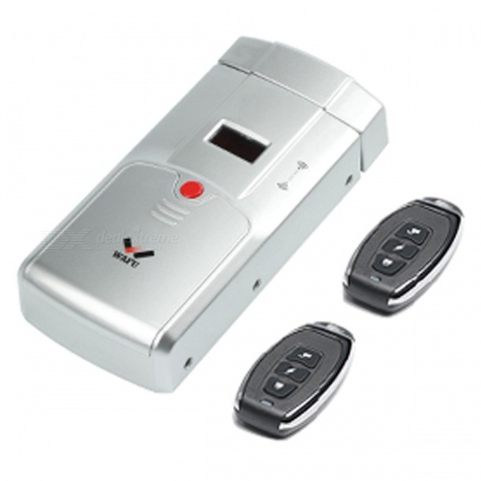 WAFU WF-011A Security Keyless Smart Remote Door Locks, Wireless Invisible Anti-theft Lock with 4 Remote Keys - SilverDoorbells<br>ColorSliverModelWF-011AMaterialStainless Steel + PlasticQuantity1 setRemote Control Range15 cmPower AdaptornoPower SupplyAA,Others,CR2032 (3V)Battery included or notNoBattery Number4Power AdapterWithout Power AdapterTransmission MethodWireless,TouchCertificationCEPacking List1 x Main lock1 x Lock catch4 x Remote keys1 x Installation board of lock1 x Other accessories1 x User manual<br>