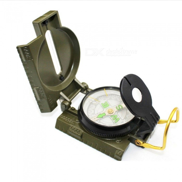 Outdoor Camping Compass Traveling Mountaineering Zinc Alloy Multi-Purpose Compass