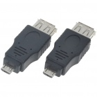 Micro USB On-The-Go Host OTG Adapter (Pair)