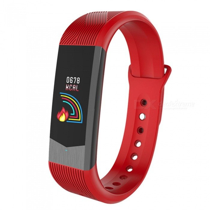 B30 3D Ui Fashion Color Display Smart Bracelet with Heart Rate, Blood Pressure Monitoring, App Remind, Pedometer - RedSmart Bracelets<br>ColorRedModelB30Quantity1 pieceMaterialTPUWater-proofIP67Bluetooth VersionBluetooth V4.0Touch Screen TypeIPSOperating SystemAndroid 4.4,iOSCompatible OSAndroid  IOSBattery Capacity80 mAhBattery TypeLi-ion batteryStandby Time15 dayPacking List1 x Wristband1 x User Manual<br>