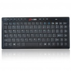 87-Key Portable 2.4G Wireless Keyboard with Receiver (1*AAA)