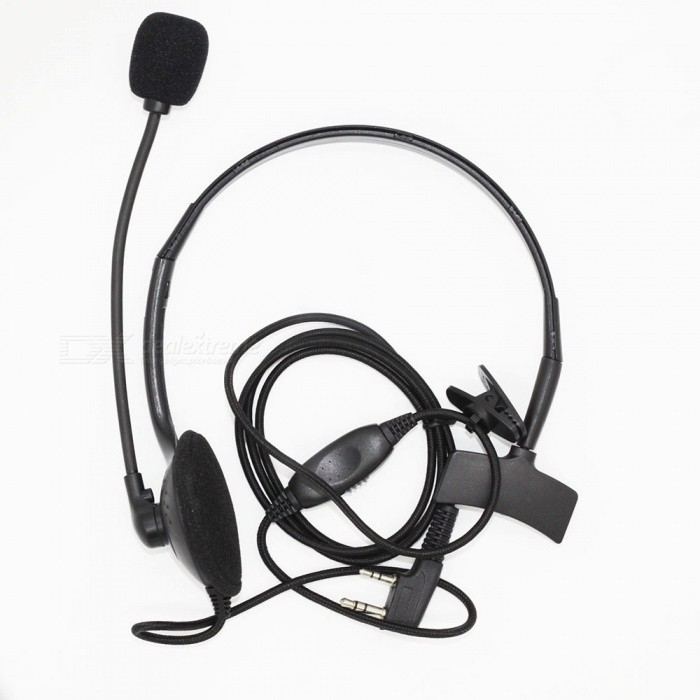 Unilateral Small K Head Headphone with Microphone Stick, VOX Function 5R / 888S - BlackWalkie Talkies Supplies<br>ColorBlackModelWearing headphonesQuantity1 setMaterialPVCCompatible BrandUniversalCompatible ModelUniversalPacking List1 x Headphone<br>