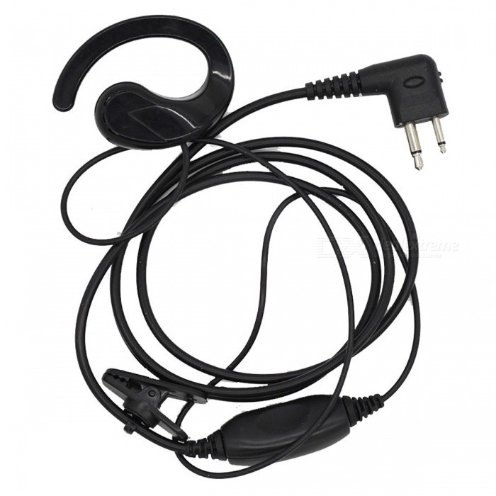 Portable Ear Hook Type M Head Wired Headset Earphone For Motorola