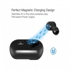 Mini Solar Powered Bluetooth Wireless Headphone, Vehicle-mounted Car Headset Earbuds Earphone with Permanent Power Supply