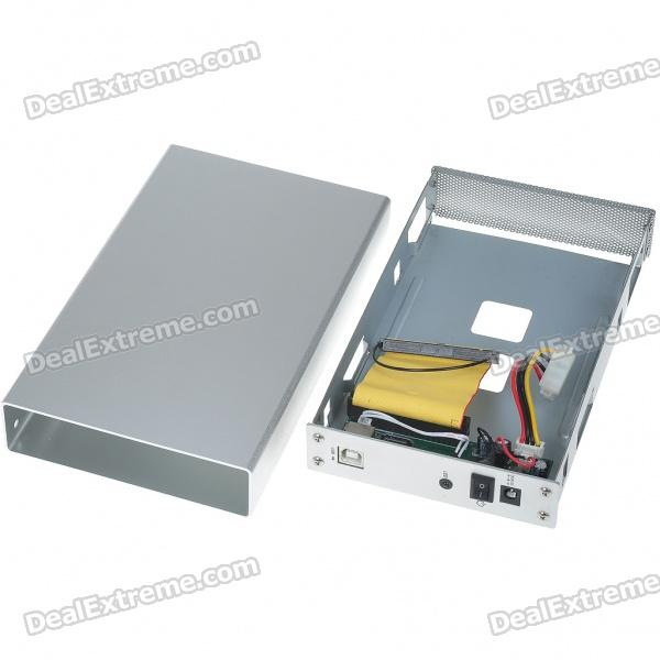 """Cheap USB 2.0 3.5"""" SATA/IDE HDD Enclosure with Stand"""