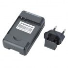 US Plug USB/AC Battery Charging Cradle with EU Plug Adapter for HTC Desire HD (AC 100~240V)