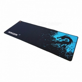 Zimoon Store Large Gaming Mouse Pad Locking Edge Mouse Mat Speed Control Version For Dota Warcraft Mousepad 6 Sizes speed30x70cm