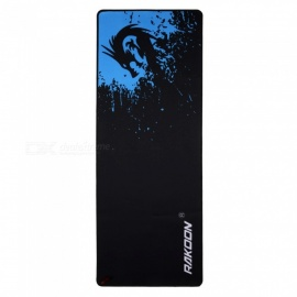 Zimoon Store Large Gaming Mouse Pad Locking Edge Mouse Mat Speed Control Version For Dota Warcraft Mousepad 6 Sizes control30x80cm