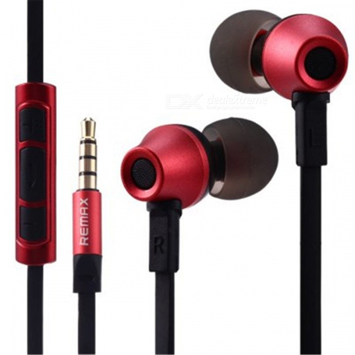 REMAX 610D IOS V8 General High Fidelity 3.5mm Wired In-ear Stereo Earphone - RedHeadphones<br>Form  ColorRed BlackShade Of ColorRedRemoteYesWith MicrophoneBuilt-inConnector3.5mmVolume ControlSupportForm  ColorRedBrandOthers,RemaxModel610DMaterialPET + MetalQuantity1 pieceConnection3.5mm WiredBluetooth VersionNoCable Length100 cmHeadphone StyleIn-EarWaterproof LevelIPX0 (Not Protected)Applicable ProductsUniversalHeadphone FeaturesFor Sports &amp; ExerciseSupport Memory CardNoSupport Apt-XNoSensitivity100dBFrequency Response20 - 20000HzImpedance32 ohmPacking List1 x Earphone1 x Earphone Bag6 x Earbuds1 x Chinese / English User Manual<br>