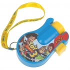 24-Photo Cartoon Projector Flashlight with Strap (4*AG13)