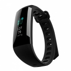measy G19 bluetooth V4.0 braccialetto fitness intelligente orologio pressione sanguigna monitor pedometro banda intelligente - nero