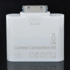 6-in-1 Camera Connection Kit with Card Reader for iPad - White (USB/SD/TF/MS/M2/MMC)