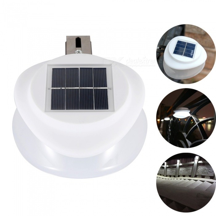 YouOKLight Solar Charging Light Sensor Wall Lamp, LED Light for Courtyard Garden Road Outdoor LightingSolar Lamps<br>ColorWhiteModelYK6418MaterialABS + PCQuantity1 pieceWaterproof LevelIP55Emitter TypeOthers,2835 SMD LEDPower1.8 WWorking Voltage   5.5 VBattery Capacity1200 mAhLumens200 lumensBattery Charging Time6-8 hourWorking Time8-10 hourPacking List1 x Solar Wall Lamp<br>