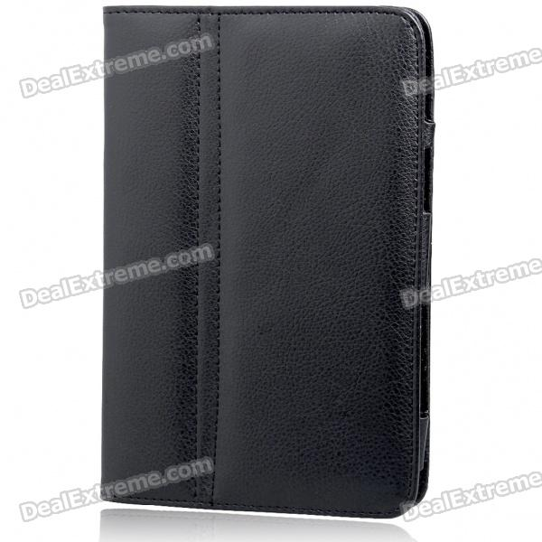 Protective PU Leather Case for Samsung Galaxy P1000 (Black)