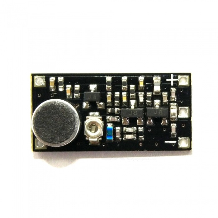 ZHAOYAO 88-115MHz FM Transmitter Wireless Microphone Surveillance Frequency Board Module for ArduinoGadgets<br>ColorBlackQuantity1 setMaterialPVCRate Voltage-Current- APower- WEnglish Manual / SpecNoPowered ByOthers,-Battery Number-Battery included or notNoOther Features-Certification-Packing List1 x FM Stereo Radio Module<br>