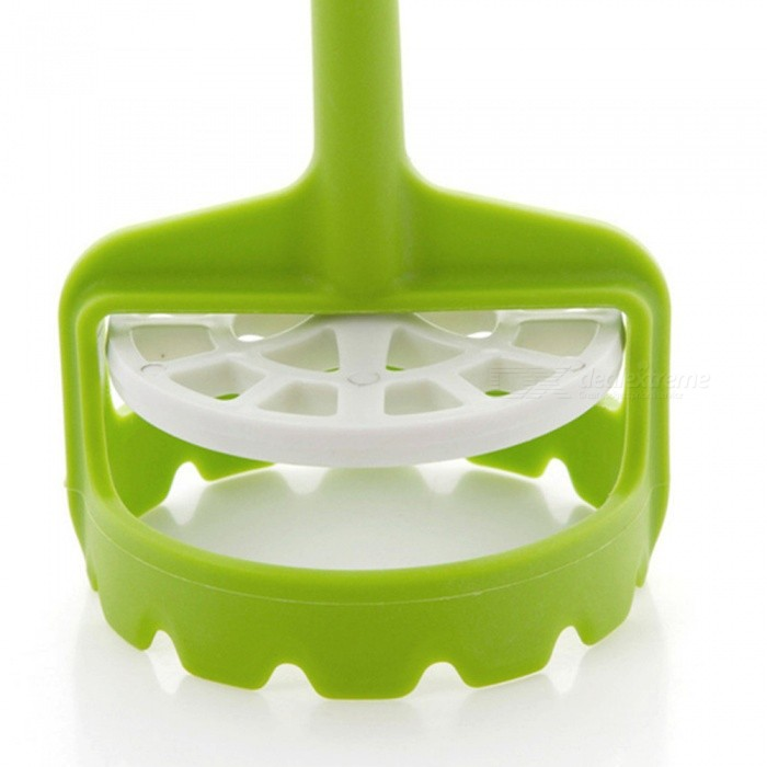 Creative Mini Automatic Potato Masher PressเธƒเธŒ Kitchen Utensil - Green