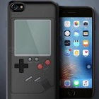 Retro Style Tetris Game Console Phone Shell Case, Back Cover for Apple IPHONE 6 - Black
