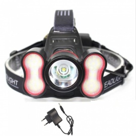 AIBBER TONE Intelligent T6 LED Headlight Headlamp for Outdoor Night Fishing, Emergency Lighting