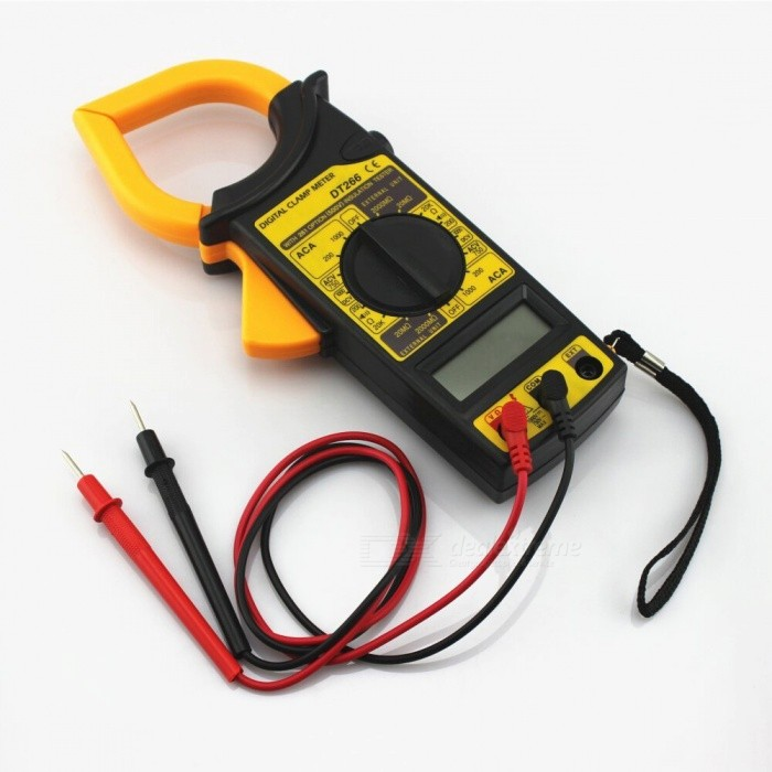 Non Contact Voltmeter : Zhaoyao dt digital current clamp meter buzzer data hold