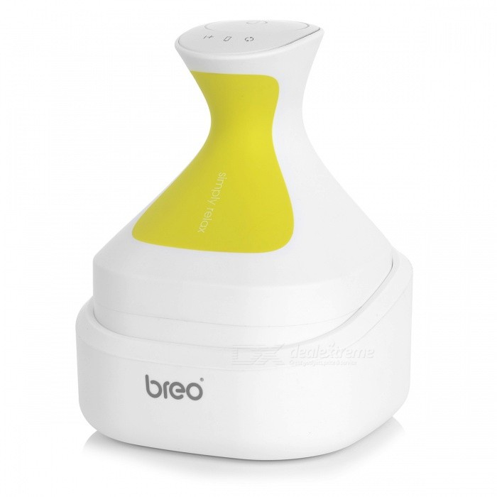 breo Portable Waterproof Head Scalp Nursing Electric Massager - WhiteRelax and Massagers<br>ColorWhiteMaterialABS + TPQuantity1 setShade Of ColorWhiteMassager PartScalpPrinciple of MassageOtherMassage ManipulationMechanical sControl ModeComputer styleNumber of Massage Heads4 piecesThermotherapy FunctionNoTiming FunctionNoDigital Strength ShowsNoBattery included or notYesPower SupplyOthersBattery Number1Power AdapterUS PlugRate Voltage5V 1APower5 WCertificationCE / RoHSPacking List1 x Massager1 x Power Adapter<br>
