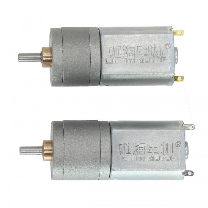ChiHai Motor CHR-GM20 DC High Torque Electronic Gear Motor Reductor 12VMotors<br>ColorSLOW SPEED 12V 30RPMModelCHR-GM20Quantity1 pieceMaterialCopper + steel + iron + POMRate VoltageDC12VPower Range3.0-12.0Input VoltageDC 12.0 VRevolutions Per Minute (RPM)560 / 30 rpmWorking Current0.1 AWorking Temperature0-+60 ?English Manual / SpecNoDownload Link   NoCertificationNoOther FeaturesNoPacking List1 x Motor<br>