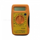DT-831B LCD Handheld Digital Multimeter for Home and Car - Yellow