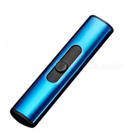 HONEST USB Rechargeable Cigarette Lighter, Flameless USB Lighter with Gift Box - Blue