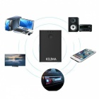 KELIMA 2-in-1 Bluetooth Music Receiver Adapter with 3.5mm Interface - Black